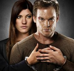 Dexter Season 8 the final season...just started watching it on Netflix. Sad that it's over for good )-:
