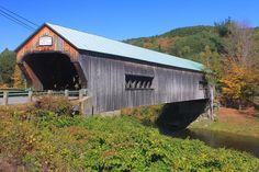 Bartonsville Vermont Covered Bridge Photograph  - Bartonsville Vermont Covered Bridge Fine Art Print