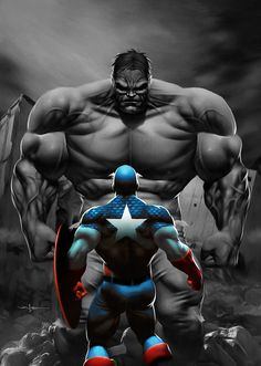 Captain America Vs The Hulk. Who would really Win? In my opinion, Captain America Would win Hands down
