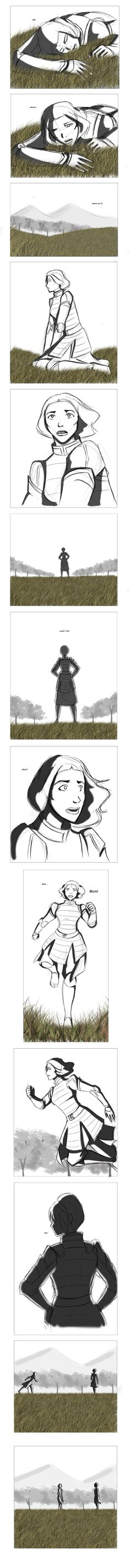 PART 1 - Knowing Destiny - by ~mizzizabellaSMS on deviantART Click pin so you can read what the comic says