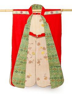 'Red camp vest,' late 19th century, felt, silk by International Arts & Artists, via Flickr