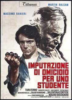 Imputazione di omicidio per uno studente (Directed by Mauro Bolognini) (1972) (Italy)