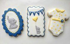 Janice Hanson: Baby Shower cookies