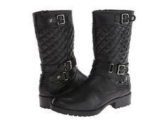 Anne Klein Anne Klein  Callforth Leather Womens Pullon Boots for 75.99 at Im in!