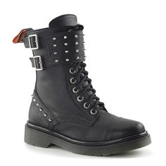 Womens Combat Boots by Demonia @ SinisterSoles.com