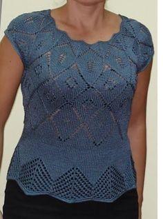 Роскошная кофточка Larimix (Вязание спицами) — Журнал Вдохновение Рукодельницы