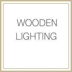 wooden Lighting Lighting, Wood, Light Fixtures, Woodwind Instrument, Timber Wood, Lights, Wood Planks, Trees, Lightning