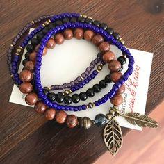 Shell Bracelet, Bracelet Set, Bohemian Style Jewelry, Laser Cut Jewelry, Beaded Necklace, Beaded Bracelets, Wooden Earrings, Gift For Lover, Jewelry Crafts