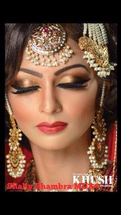 Beautiful pakistani bridal makeup