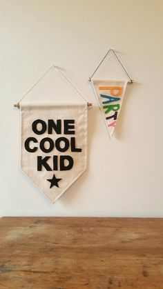 One Cool Kid Banner