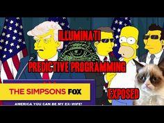 "The Simpsons ""PREDICTED"" a Donald Trump presidency !!! Illuminati Predictive Programming! - YouTube"