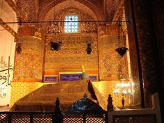 Which religion is associated with Rumi's Tomb?