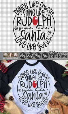 Christmas Dance, Christmas Jesus, Christmas Pjs, Christmas Quotes, Office Christmas Gifts, Cricut Christmas Ideas, Christmas Projects, Christmas T Shirt Design, Jolly Holiday