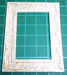 nataliegayleminiatures: Mini Picture Frame - Tutorial