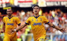 Descargar fondos de pantalla 4k, Paulo Dybala, las estrellas del fútbol, el objetivo, el Juventus de turín, la Juve, los futbolistas, de Italia, de la Serie a