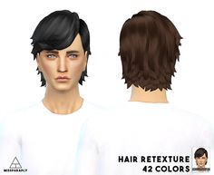 EA LongEarTucked hair at Miss Paraply via Sims 4 Updates