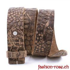Wechselgürtel für Zierschnallen Reptilien Kroko prägung Print fashion Rose Outdoor Blanket, Fashion, Reptiles, Silver Decorations, Get Tan, Animals, Moda, Fasion