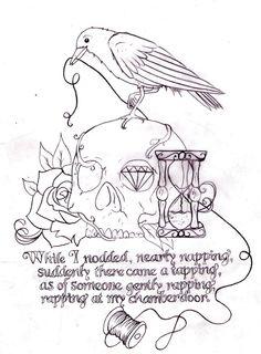 occult surreal morbid tattoo design  artist cmotta