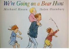 """WE'RE GOING ON A BEAR HUNT - MICHAEL ROSEN. Michael Rosen stworzył niepowtarzalna i urzekającą książkę nie tylko dla najmłodszych odbiorców, jestem pewna że zaczaruje ona nie tylko dzieci, ale również dorosłych - mnie zauroczyła! """"We're Goi..."""