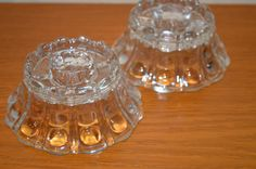 Vintage Low Taper Candle Holders by TwinsTreasureTrove on Etsy