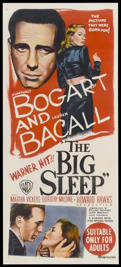 The Big Sleep | Australian Daybill, 1946