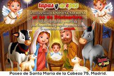 #Tapasyarepas invita a rezar la novena navideña el 20 de Diciembre. Habrá buñuelos y natillas para los asistentes y regalos para los niños. Te esperamos a las 17:30h. ¡Felices Fiestas!