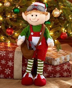 Set these Decorative Holiday Elves around your tree to wait for Santa.Add this charming Decorative Holiday Elf to your seasonal display. Each character has its own personality and depicted doing their favorite activity. Elf Christmas Decorations, Christmas Bows, Christmas Sewing, Christmas Games, Christmas Knitting, Christmas 2019, Holiday Crafts, Christmas Holidays, Christmas Ornaments