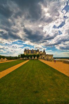 Fairy Tale Castle - Château d'Amboise, Loire Valley in France