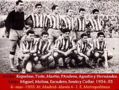 Foto Atletico de Madrid 1954/55