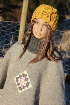 Grå ponsjo str 4-5år Winter Hats, Design, Fashion, Moda, La Mode, Fasion, Design Comics, Fashion Models, Trendy Fashion