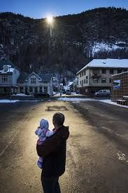 Image result for norwegian village mirror