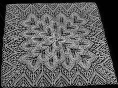 robótki ręczne pasja i nie tylko....: Serwety kwadratowe wykonane na drutach Square