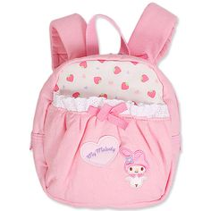 """""""Bags"""": My melody backpack, as courtesy of Sanrio"""