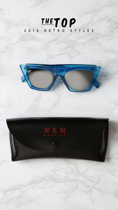 ae4c2a449bda NEM Posh 50mm Gradient Angular Sunglasses