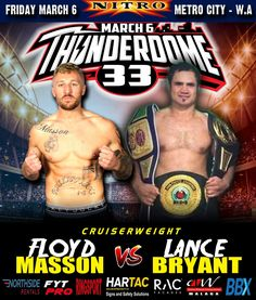New Zealand born Australian resident Floyd Masson - 0 - will take on New Zealander Lance Bryant - 6 - in Floyd's new hometown of Perth. Broken Ribs, Professional Boxing, Got Him, New Zealand, Battle, Australia, Ring, News, Rings