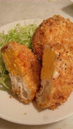 Easy, cheap! Deep Fried Egg (brilliant idea!) 簡単安い たまごのフライ(お弁当にも♪)