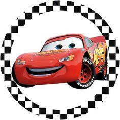Risultati immagini per personalizados para scrap festa carros disney