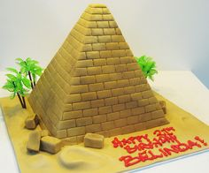 sometimes a cake can take you places ^_^ 8th Birthday, Birthday Parties, Birthday Cake, Indiana Jones Cake, Egyptian Party, Cakes For Boys, School Projects, Cake Designs, Party Time