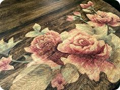 Tutorial on creating beautiful wood stain art. how to use stain instead of paint to make beautiful artwork on wooden surfaces and furniture.