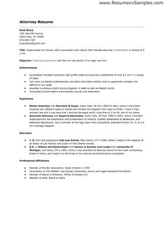 20 great samples of resume for attorney sample resumes - Great Sample Resumes
