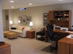 Basement Design, Pictures, Remodel, Decor And Ideas   Page 56. Total  Basement Finishing · Basement Home Office Ideas