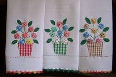 Filomena Crochet e Outros Lavores: - Panos de Prato e Bela Surpresa
