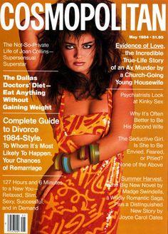 Paulina Porizkova Cosmopolitan - May 1984 Photographer - Francesco Scavullo