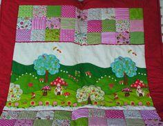 Neu! Farbenfrohe Decke! von Meine bunte Flickenecke auf DaWanda.com