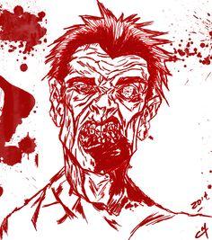 1°) Zombie   Tiempo 1 hora