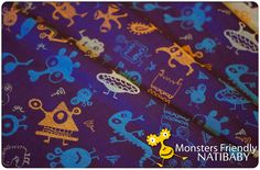 MONSTERS FRIENDLY (50% Linen, 50% Cotton) TODAY at 2 p.m. (Warsaw time) in our shop!       MONSTERS FRIENDLY (50% Leinen, 50% Baumwolle) HEUTE um 14:00 Uhr in unserem Shop!