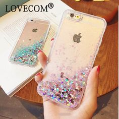 For Iphone 5S 5 SE 6 6S Plus 7 7 Plus Caes Love Heart Glitter Stars Dynamic Liquid Quicksand TPU Phone Case Back Cover  YC1562 #>=#>=#>=#>=#> Click on the pin to check out discount price, color, size, shipping, etc. Save and like it!
