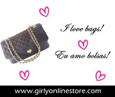 Girls! Be fashion! Fique na moda.