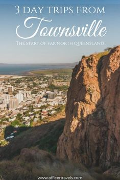 There are some amazing day trips from Townsville Queensland including Magnetic Island. We put together this guide with everything you need to know when youre planning a trip to Townsville and surrounding areas! Work And Travel Australia, Australia Tourism, 3 Days Trip, Day Trips, Airlie Beach, Dream City, New Zealand Travel, Great Barrier Reef, Cairns