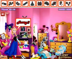 Elsa Bedroom Hidden Objects Play at http://www.jogosdafrozen.com/jogos-frozen/elsa-bedroom-hidden-objects-2  Elsa is playing in her bedroom, her favorite toys and things are hidden in the bedroom. You have to help Elsa to find the objects that you request as soon as possible so please do not annoy. A good sense of observation is required to find all that is asked but you will also need to act quickly because time is limited and if you do not find the items on time, your game is over.